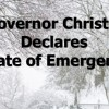 Governor Christie Declares State of Emergency
