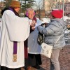 St. Peter's Church Celebrates Ash Wednesday at Perth Amboy Train Station 2/185/15