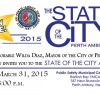 2015 State of the City Address, Tuesday, March 31 at 6 p.m.
