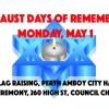 Holocaust Days of Remembrance Ceremonies, May 1