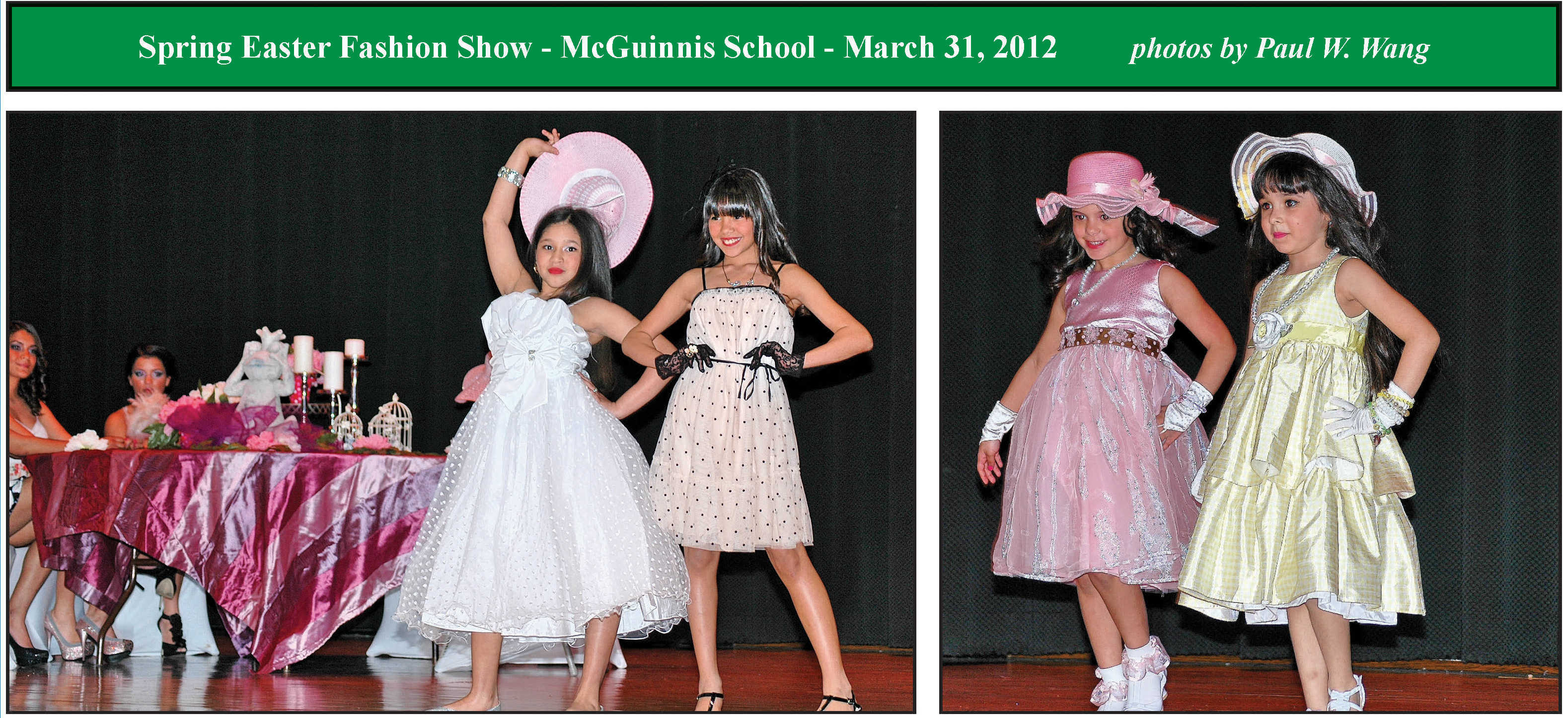 Spring Easter Fashion Show The Amboy Guardian