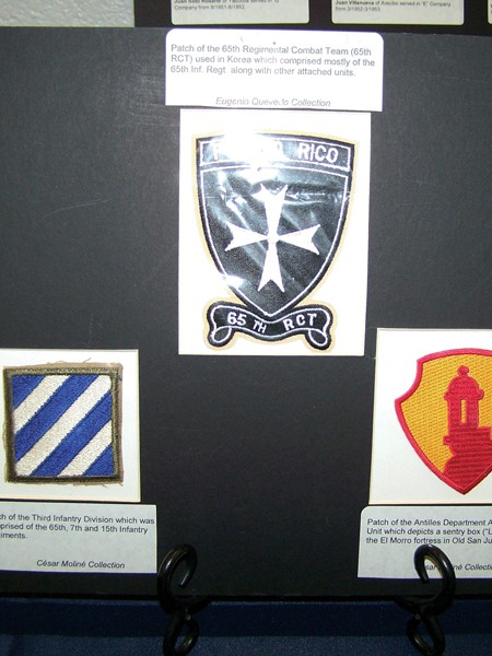 Patch Of The 65th Infantry