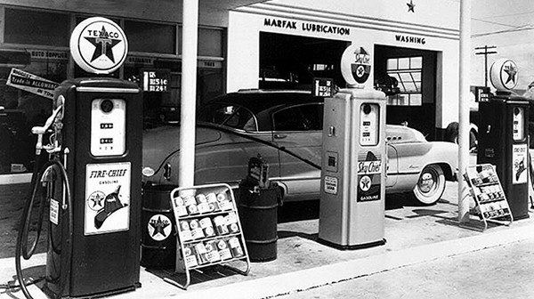 LOOKING BACK: Texaco Station, 1950s | The Amboy Guardian