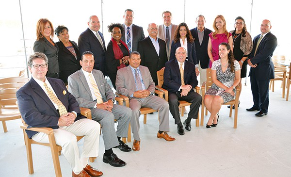 Pictured are the members of the 28th Annual Roberto Clemente Gala planning committee, gala honorees- Stephen E. Fauer, Vanessa Mendez of Tropical Cheese Industries and employees, Enrique Hernandez and Tito Lopez, President of the Criollos Athletic Club, PRAHD executive staff members, the Board of Directors and gala Mistress of Ceremonies, FiOS1 News Anchor/Reporter Nancy Ward.   *Photo Submitted