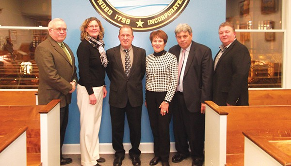 No surprises in South Amboy: Mayor Fred Henry and the South Amboy City Council *File Photo by Joseph L. Kuchie