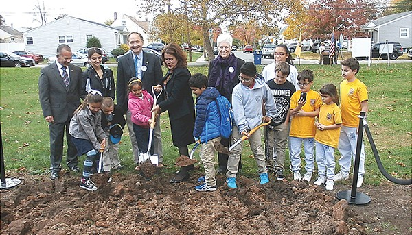Flynn Park Ground Breaking  *Photo by Joe Bayona