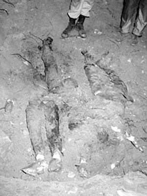 Discovery of the remains of the 3 bodies of the Civil Rights Workers (pictured above)