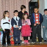 Children sing for the Epiphany