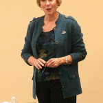 """Guest Speaker and author of the book, """"New Brunswick and the Civil War"""", Joanne Hamilton Rajoppi."""