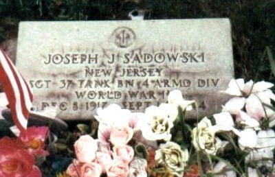 PERTH AMBOY - Sgt. Sadowski as a tank commander was advancing with the leading elements through a severe barrage of enemy fire from the streets and buildings of the town of Valhey. As his tank advanced it was struck by a shell from an 88-mm gun fired at a range of 20 yds and burst into flames. Sgt. Sadowski immediately ordered his crew to dismount and take cover in the adjoining buildings. After his crew had dismounted, Sergeant Sadowski discovered that one member of the crew, the bow gunner, had been unable to leave the tank. Although the tank was being subjected to a withering hail of enemy small-arms, bazooka, grenade, and mortar fire from the streets and from the windows of adjacent buildings, He unhesitatingly returned to his tank and tried to pry up the bow gunner's hatch. While engaged in this attempt to rescue his comrade from the burning tank, he was cut down by a stream of machine-gun fire which resulted in his death. The gallant and noble sacrifice of his life in the aid of his comrade, undertaken in the face of almost certain death, so inspired the remainder of the tank crews that they pressed forward with great ferocity and completely destroyed the enemy forces in the town without further loss to themselves. Sgt. Sadowski earned The Medal of Honor posthumously During WWII for heroism September 14, 1944 at Valhey, France.