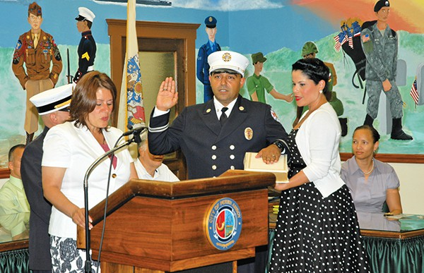 Carlos L. Gonzalez,Jr. Fire Captain