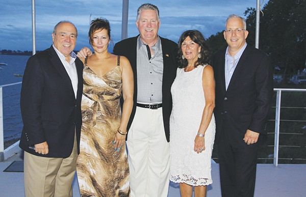 RBMC President and CEO Michael R. D'Agnes, Michelle Polidura of AristaCare Health Services, Joseph Britton, Rozalia Czaban and Andrew Citron, MD. Not pictured is Timothy P. O'Brien, CFP. *Photo Submitted