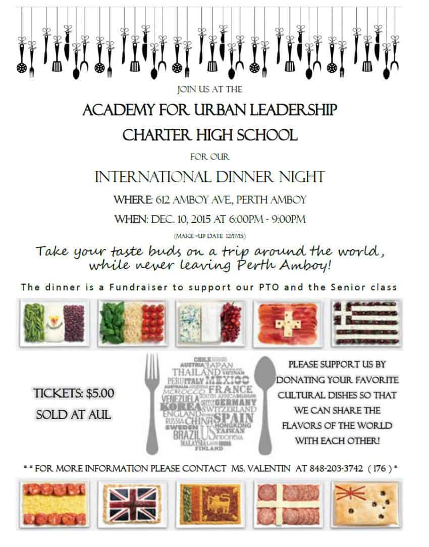 International Dinner Night poster