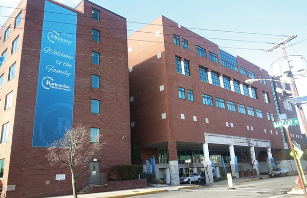 Front view of Raritan Bay Medical Center which has now merged with Meridian Health. *Photo by Carolyn Maxwell