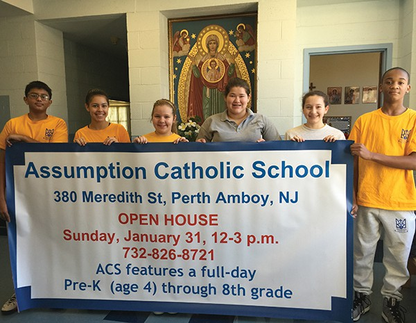 PERTH AMBOY - ACS in Perth Amboy NJ, the largest elementary Ukrainian Catholic School in America, will host an Open House on Sunday January 31st from 12 noon to 2 p.m. as part of its Catholic Schools Week celebrations. Light refreshments and school tours will be available for prospective students and their parents. Founded in 1963, Assumption Catholic School brings the tradition of high-quality Catholic Education to the city of Perth Amboy, NJ. AdvancEd accredited, the school provides a Christ-centered, Catholic environment to a diverse population of pre-kindergarten (age 4) through 8th-grade students. Before Care and After Care are available. Our Open House is a wonderful opportunity to meet our Pastor, the Principal and have a tour of the school by one of our current students. To receive more information about the school, call 732-826-8721 or visit www.assumptioncatholicschool.net.