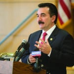 Speaker Vincent Prieto, D-32, speaks about the importance of preschool education at an announcement of legislation he sponsored to expand preschool access in New Jersey. *Photos Submitted