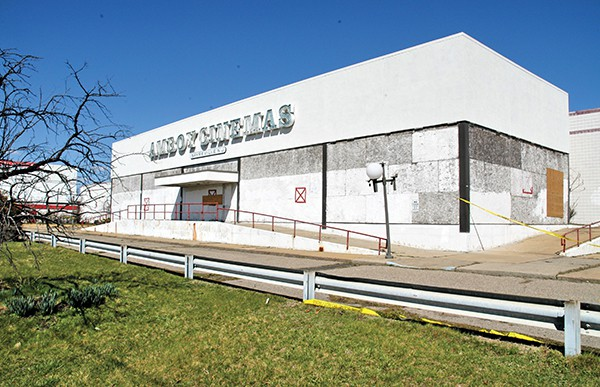 The old Amboy Cinemas Movie Theater which has been closed since 2005 *Photos by Paul W. Wang