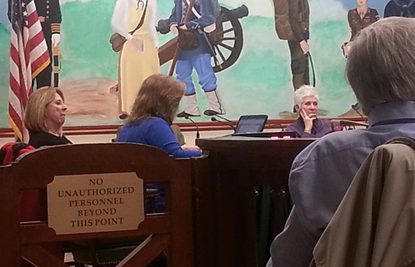 PERTH AMBOY - Judy Verrone from the DeCotiis Law Firm was present at the 2/24/16 Council Meeting. *Photo by the Carolyn Maxwell