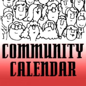 community calendar gradient w people
