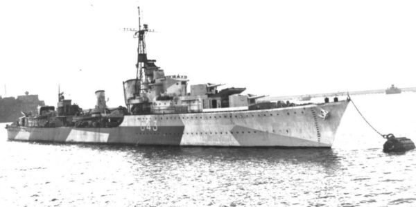 Royal Navy destroyer HMS Somali