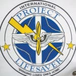 Project Lifesaver Logo, a Program to supply tracking devices for at Risk Citizens