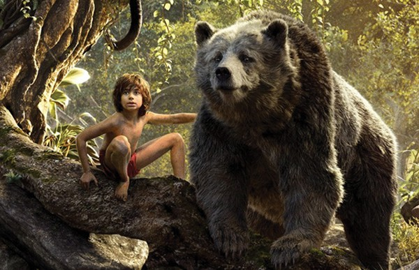 """Scene from the movie """"The Jungle Book."""""""