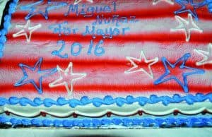Patriotic Cake *Photos by Paul W. Wang