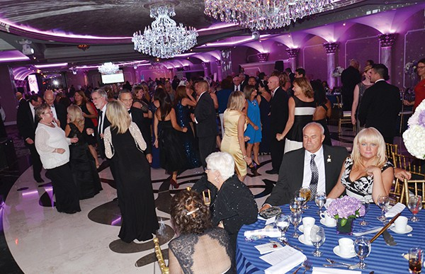Published on www.RBMC.org OLD BRIDGE - RBMC held their 32nd Annual Harbor Lights Ball which took place on Saturday, September 10, 2016 at the Grand Marquis in Old Bridge. The event was chaired by Dr. George and Jessica Smith. The event supports Raritan Bay Medical Center's Integrative Program. The fundraising event featured a cocktail hour, followed by dinner and dancing with music by REIGN, a silent auction and a 50/50 cash raffle. There are many opportunities for individuals, organizations and corporations to sponsor the event and to place ads in the program.