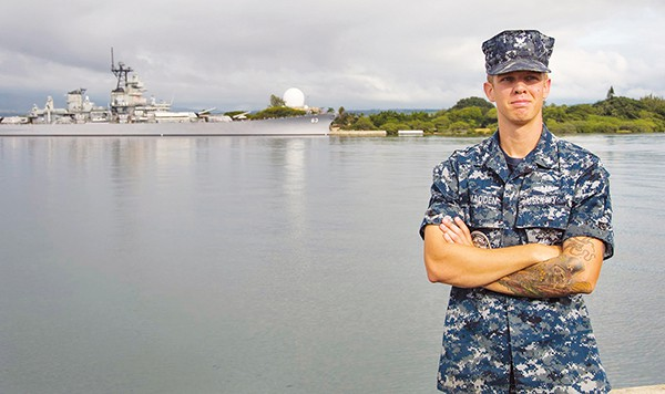 Petty Officer 2nd Class Austin Madden *Photo Submitted